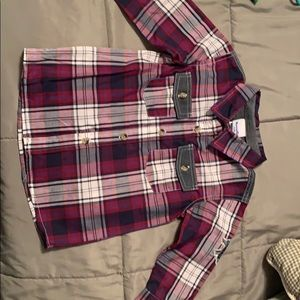 Other - *NWOT* Boys Plaid Button Down Shirt